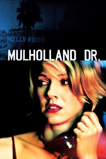 Official movie poster for Mulholland Drive (2001)