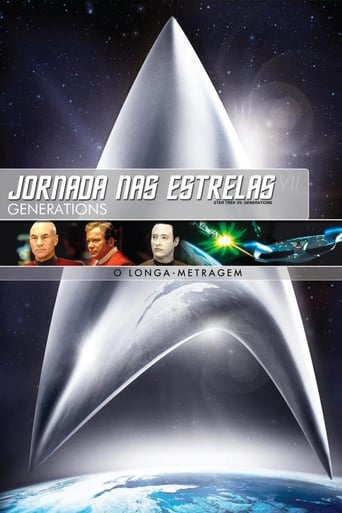 Jornada nas Estrelas: Generations - Poster