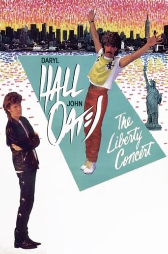 Poster of Daryl Hall & John Oates: The Liberty Concert