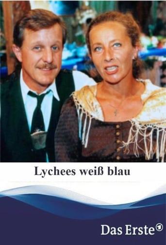 Poster of Lychees weiß blau