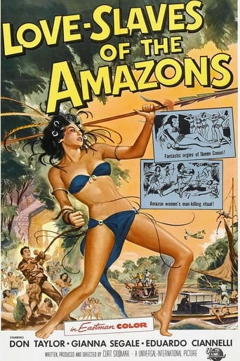 Poster of Love Slaves of the Amazons