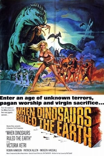 Poster of When Dinosaurs Ruled the Earth