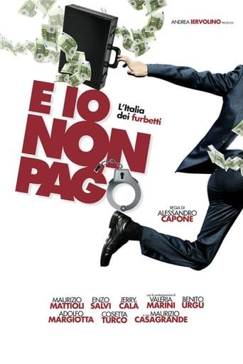 Poster of E Io Non Pago