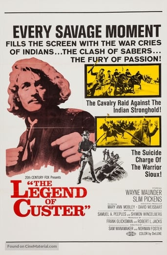 Poster of The Legend of Custer