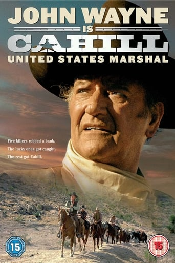 Poster of Cahill U.S. Marshal