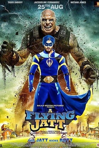 Poster of A Flying Jatt
