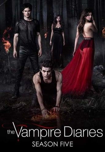 Diários de um Vampiro 5ª Temporada - Poster