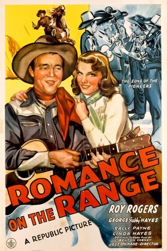 Poster of Romance on the Range