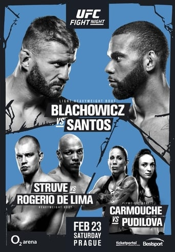 Poster of UFC Fight Night 145: Błachowicz vs. Santos