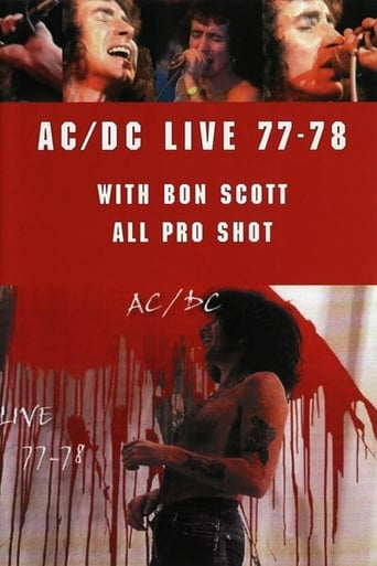 Poster of AC/DC ‎– Live 77-78