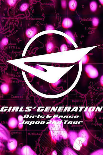 Poster of Girls' Generation -Girls & Peace- Japan 2nd Tour