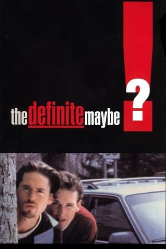 Poster of The Definite Maybe