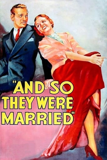 Poster of And So They Were Married