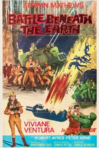 Poster of Battle Beneath the Earth