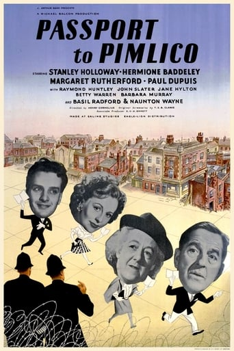 Poster of Passport to Pimlico