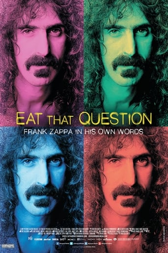 Poster of Eat That Question: Frank Zappa in His Own Words