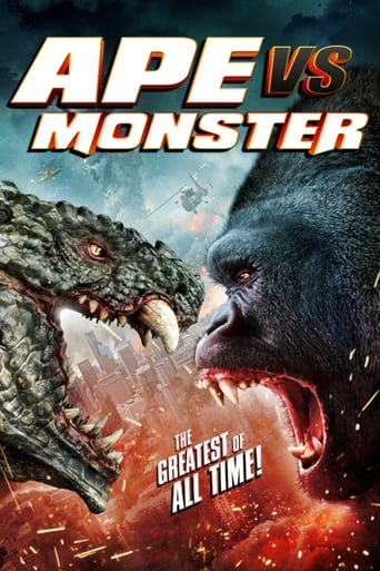 Ape vs. Monster Poster