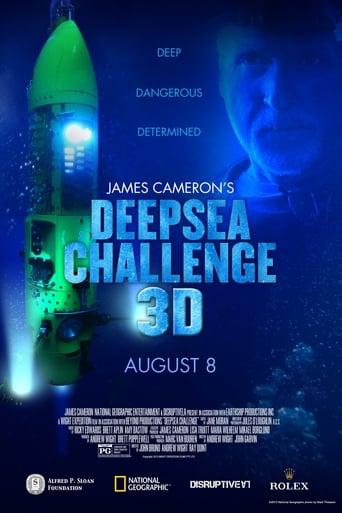 Deepsea Challenge 3D (2014) - poster