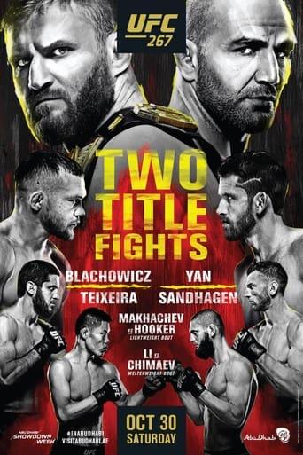 UFC 267: Blachowicz vs. Teixeira