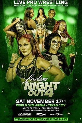 Poster of ROW Ladies Night Out 4