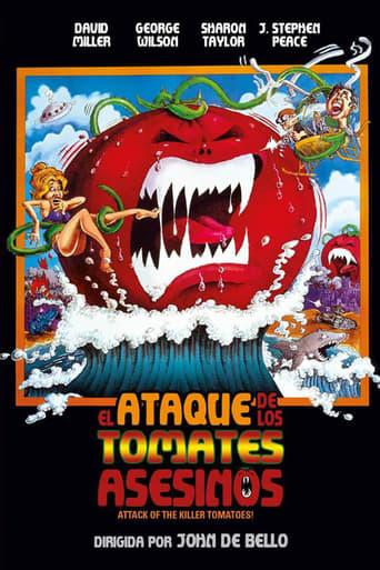 Poster of El ataque de los tomates asesinos