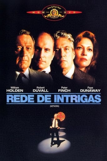 Rede de Intrigas - Poster