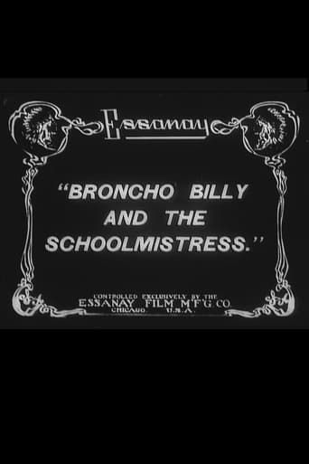 Poster of Broncho Billy and the Schoolmistress
