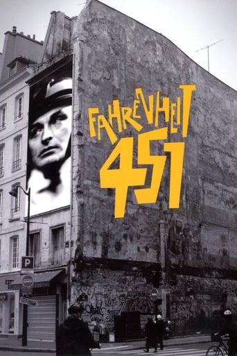 Fahrenheit 451 (1966) - poster