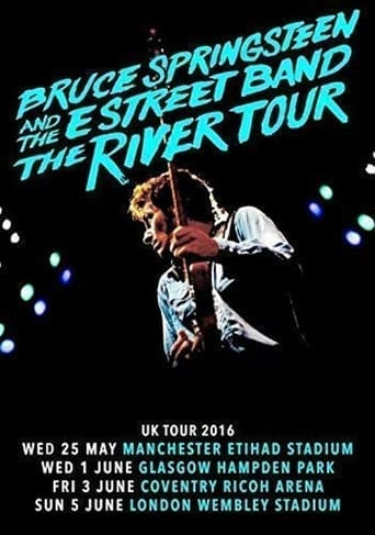 Poster of Bruce Springsteen  - The River Tour 2016 Highlights - dvddubbingguy