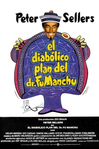 Poster of El diabólico plan del Dr. Fu Manchu