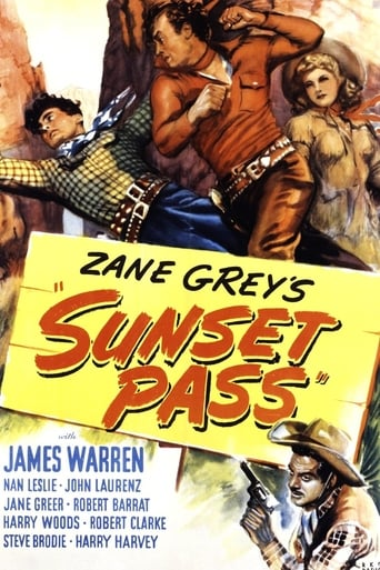 Poster of Sunset Pass