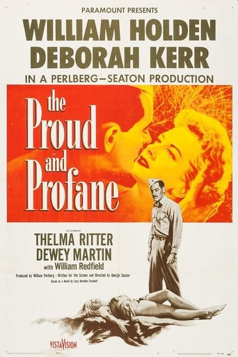 Poster of The Proud and Profane