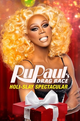 Poster of RuPaul's Drag Race Holi-slay Spectacular