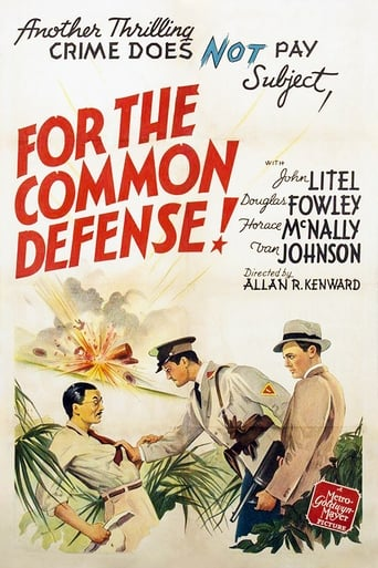 Poster of For the Common Defense!