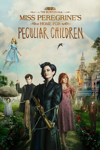 Official movie poster for Miss Peregrine's Home for Peculiar Children (2016)