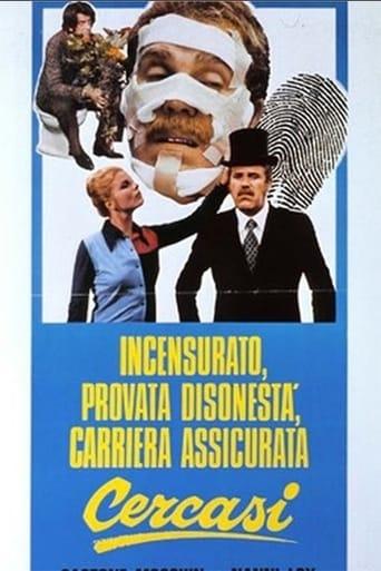 Poster of Incensurato, provata disonestà, carriera assicurata cercasi