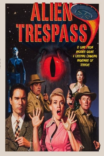 Poster of Alien Trespass