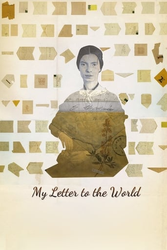 Poster of My Letter To The World: A Journey through the Life of Emily Dickinson