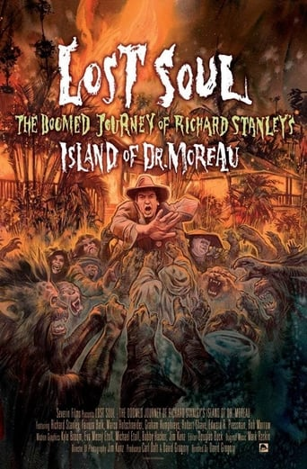 """Poster of Lost Soul: The Doomed Journey of Richard Stanley's """"Island of Dr. Moreau"""""""