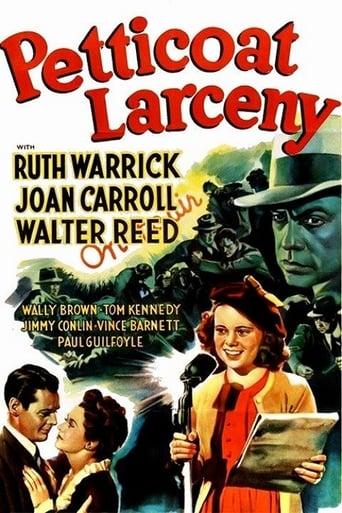 Poster of Petticoat Larceny