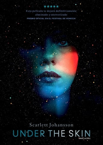 Poster of Under the skin