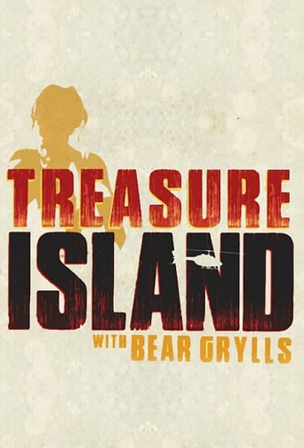 Poster of Treasure Island with Bear Grylls