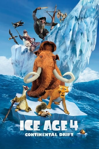 The Ice Age: Continental Drift (2012) movie poster image