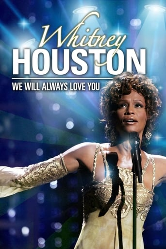 Poster of Whitney Houston - We Will Always Love You