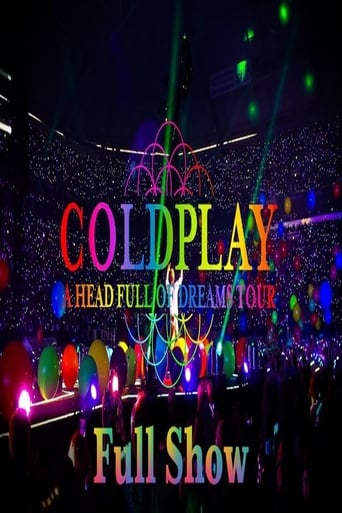 Poster of Coldplay A Head Full of Dreams Tour