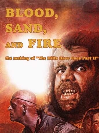 Poster of Blood, Sand, and Fire: The Making of The Hills Have Eyes Part II
