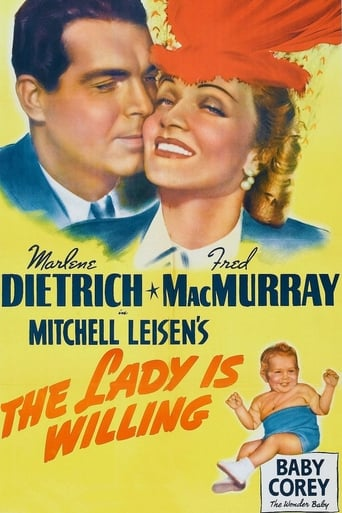 Poster of The Lady Is Willing