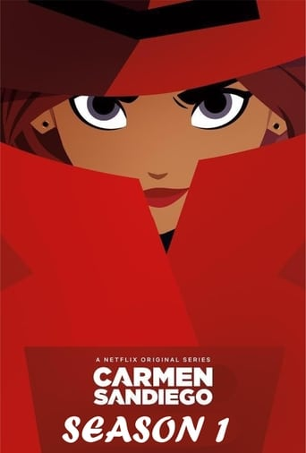 Carmen Sandiego 1ª Temporada - Poster