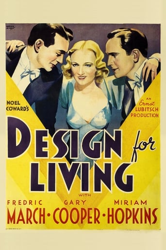 Poster of Design for Living