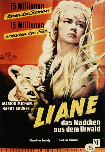 Poster of Liane, Jungle Goddess